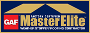 professionally certified gaf master elite roofer